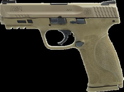"""S&W Pistole M&P9-M2.0 FDE, Kal. 9mmLuger 4.25"""""""