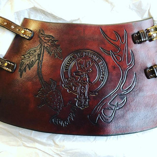 Leather Archery Arm Guard