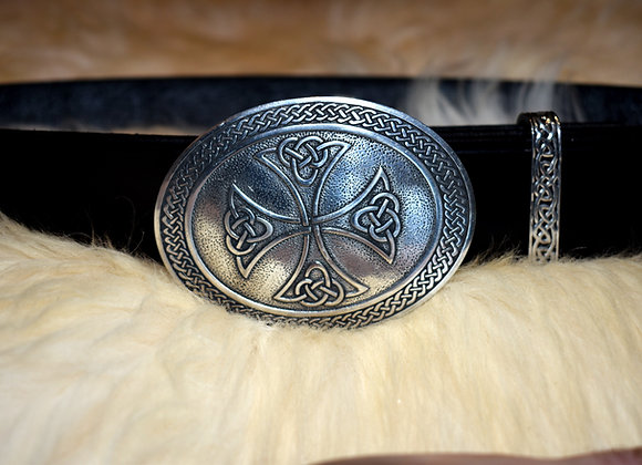 Pewter Celtic Cross Belt