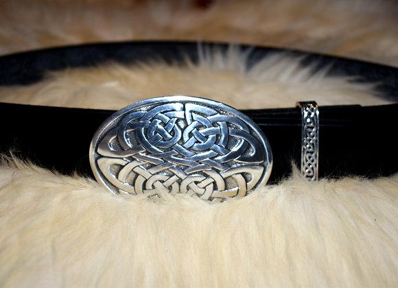 Oval Celtic Knot Belt