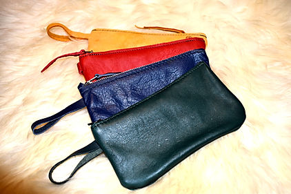 Handmade Wallets and Purses