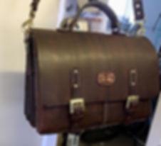 Brown Handmade Briefcase