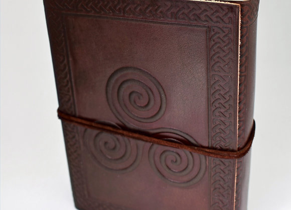 Triskele Leather Journal