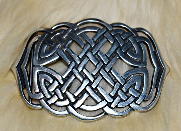 Mermaids Purse Pewter Buckle