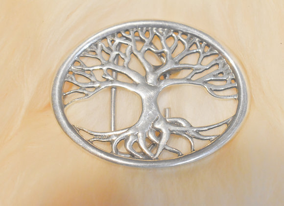 Tree of Life Pewter Buckle