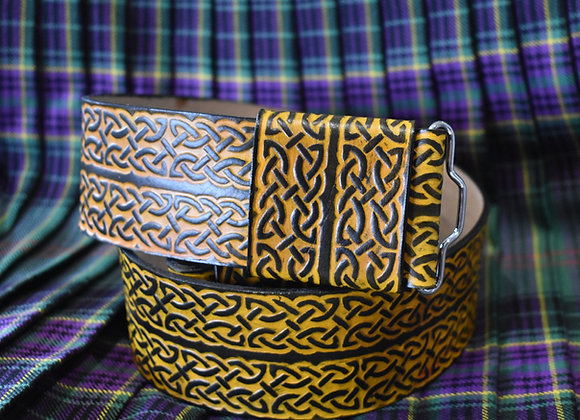 Celtic Knot Kilt Belt