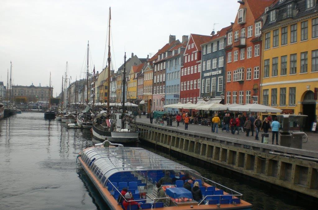 Nyhavn, Copenhague - Dinamarca