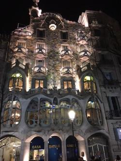 Casa Batló Gaudi, Barcelona- Espanha