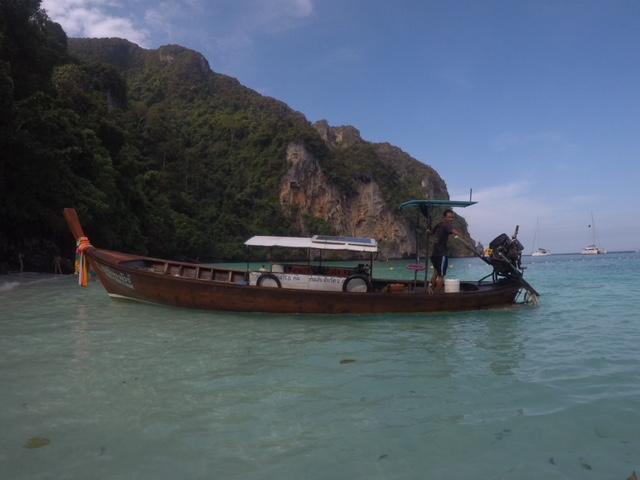 Monkey beach, Koh Phi Phi -Tailândia