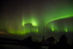 Aurora Boreal, Rovaniemi - Finlândia
