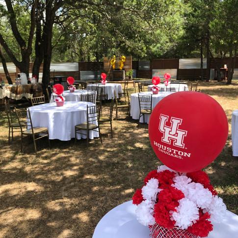 Graduation Party Set-Up