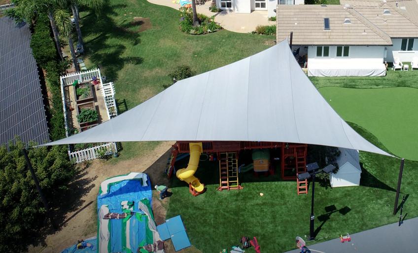 Large Backyard Sail
