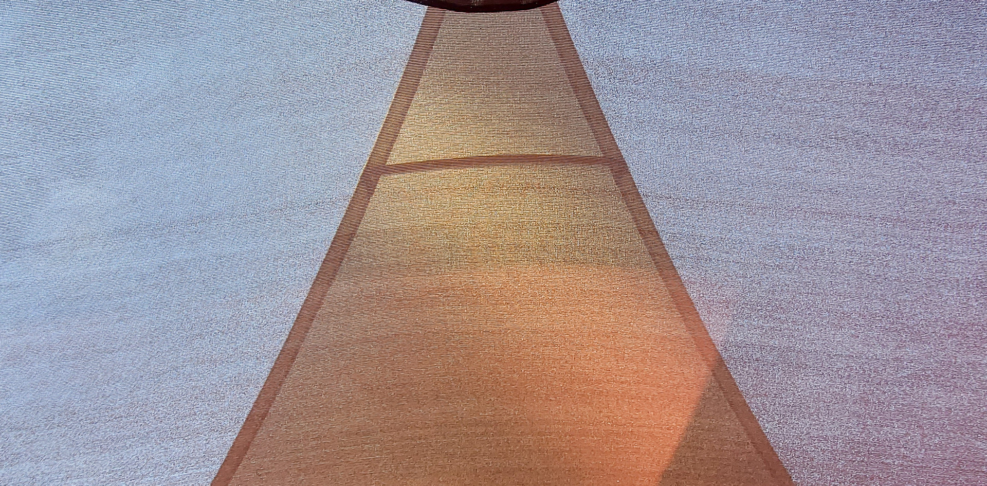 Overlapping Patio Sails - fabric close up