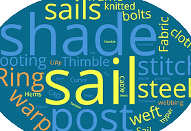 Shade Sail Word Cloud