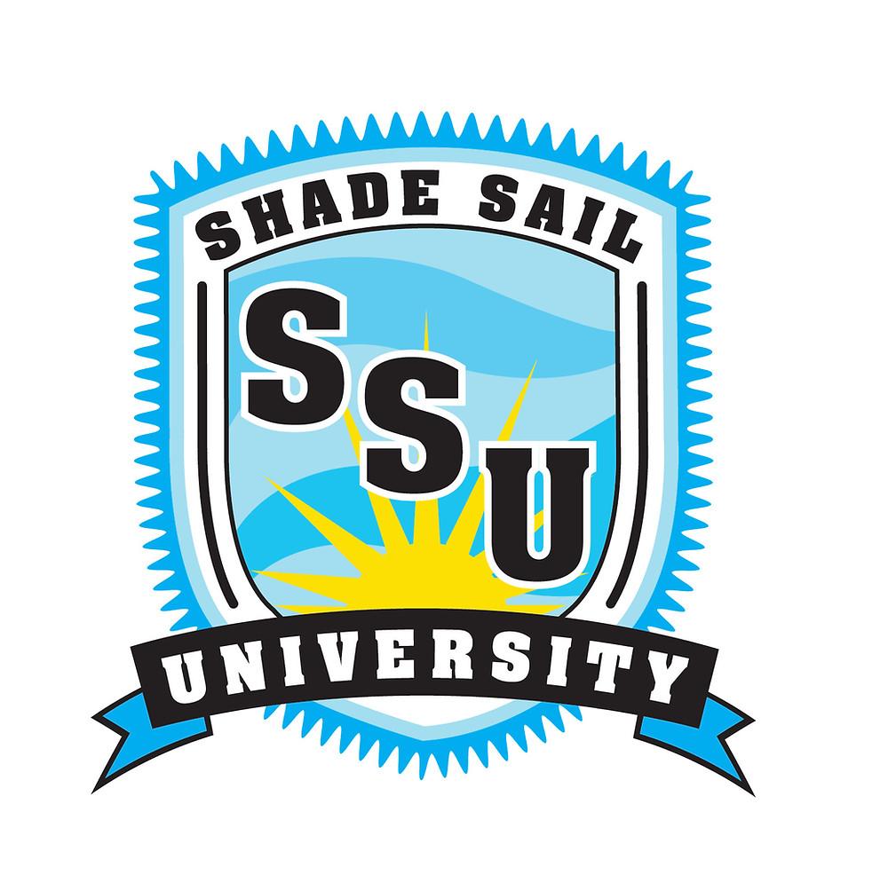 Shade Sail University Logo