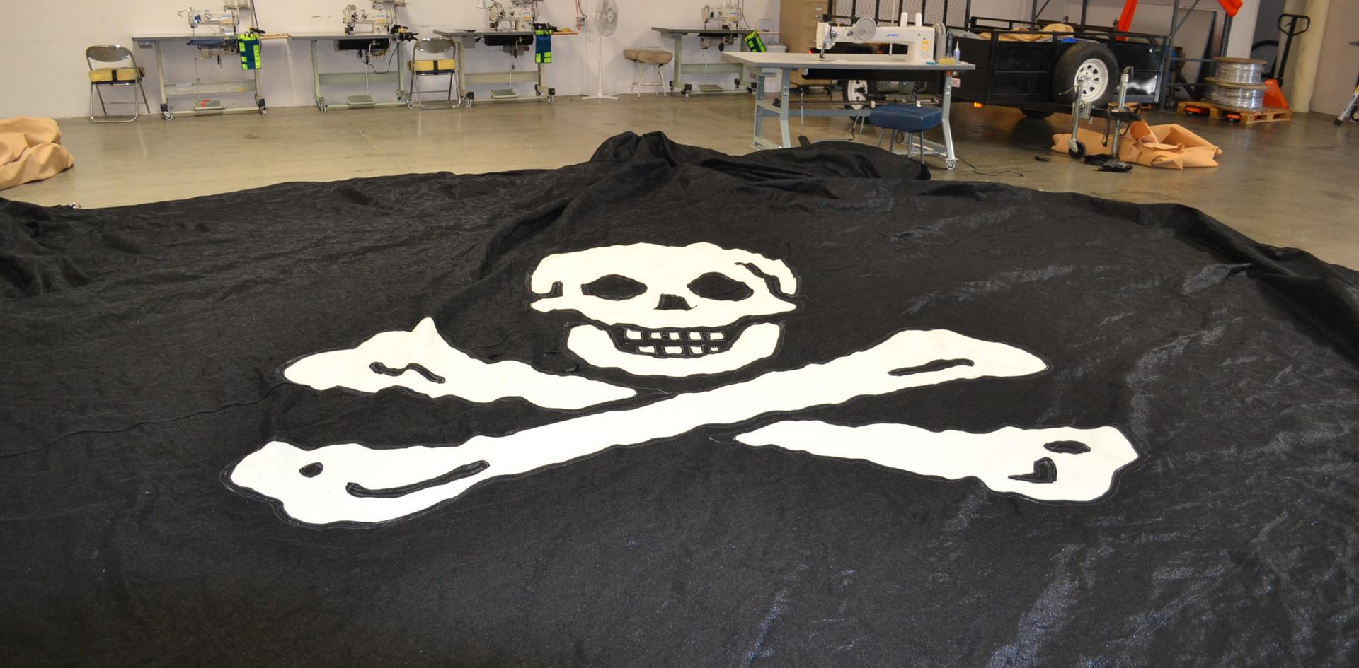 Pirate Shade Sail Graphic