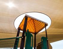 Sail Cutout Playground Tower