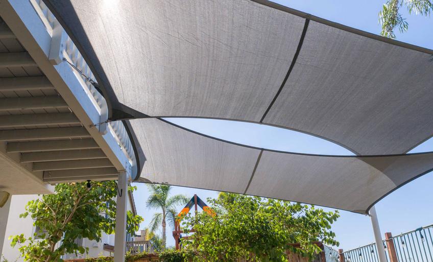 Backyard Shade Sails