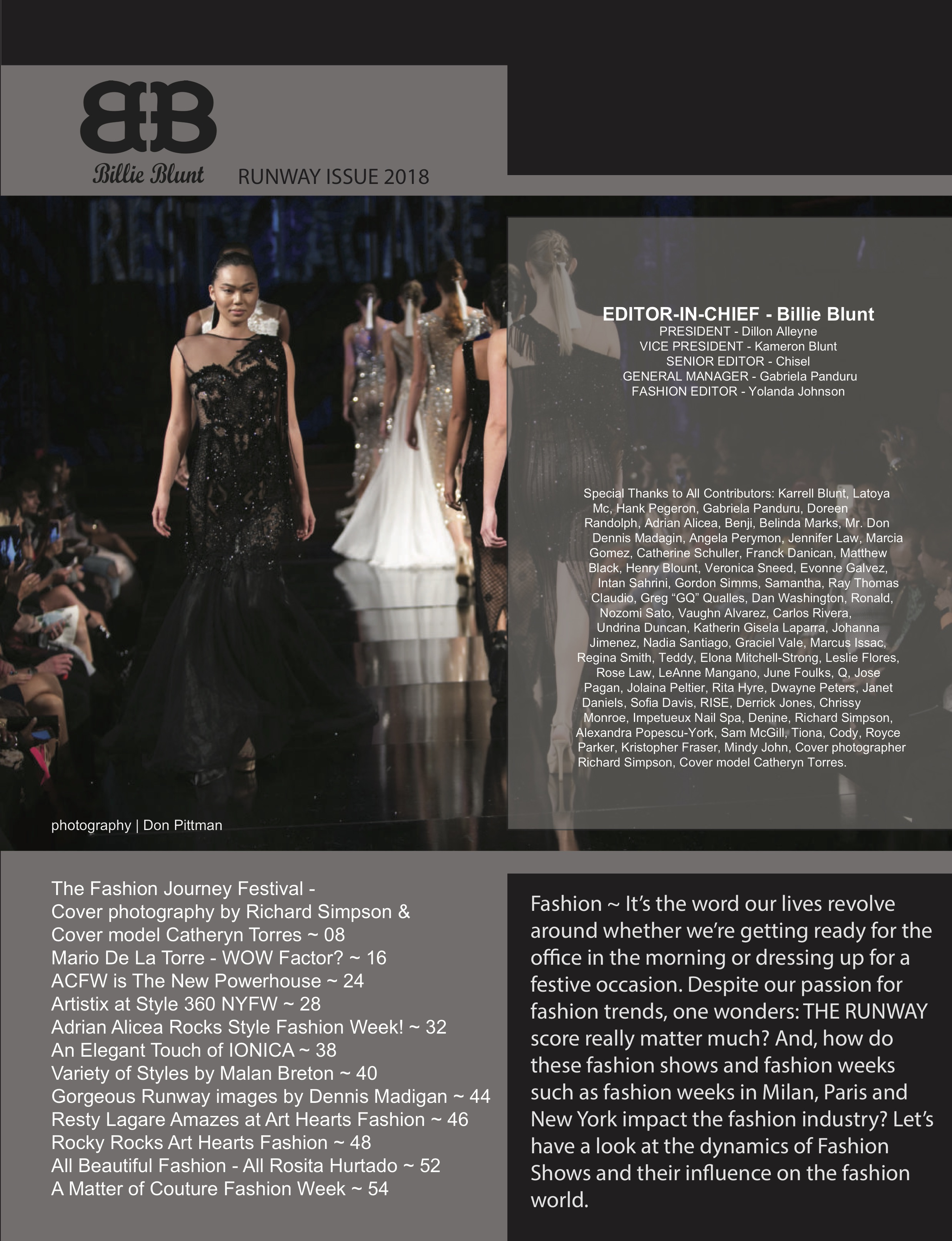 BB MAGAZINE RUNWAY ISSUE vJOURNEY (dragged) 3