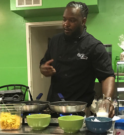 """CHEF Q at the """"Sip and Chew"""""""
