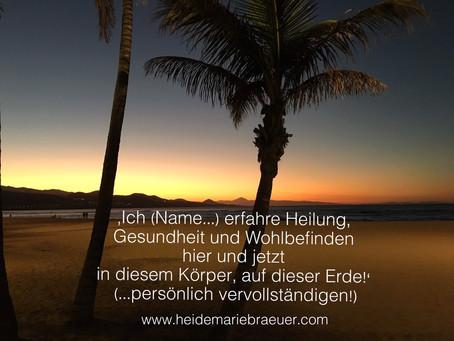 Intention - DEIN Heilgebet!