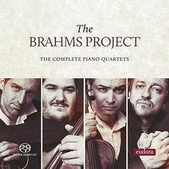 The Brahms Project The Complete Piano Quartets de Johannes Brahms 2017Eudora Records
