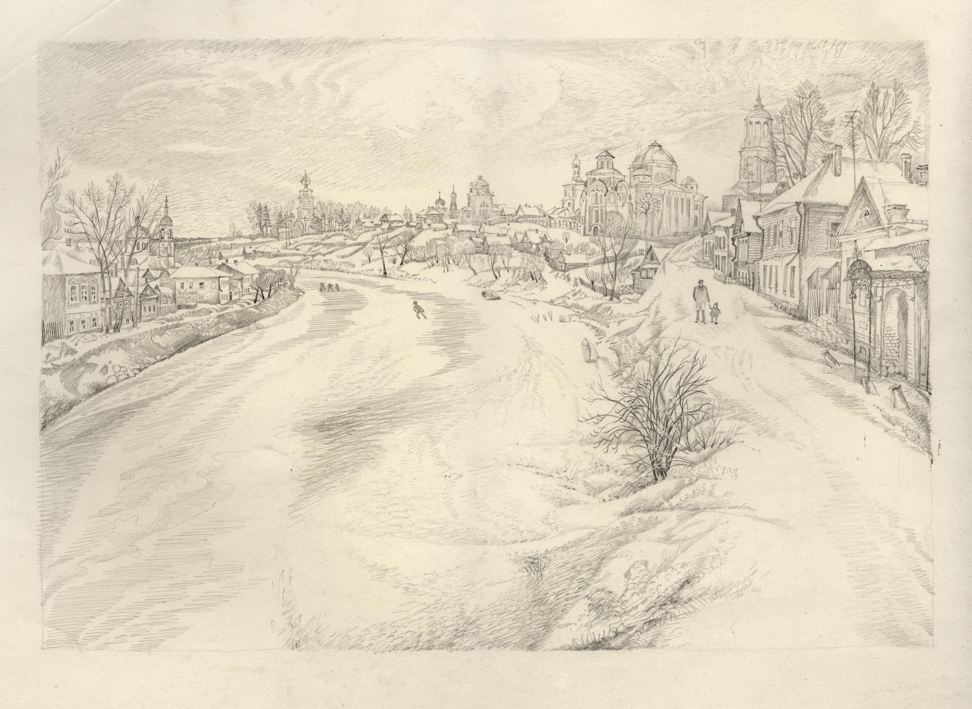"""Sketch of """"Torzhok"""""""