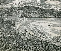 Берег моря у Сухуми