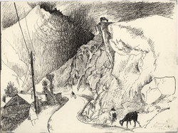 """The Pamir Mountains, Qal'ai Khumb"""