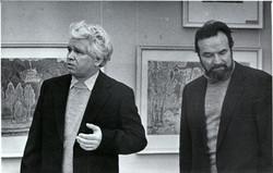 На открытии выставки И. Воробьевой
