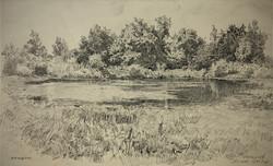 """Pond. May 29th, 1953"""