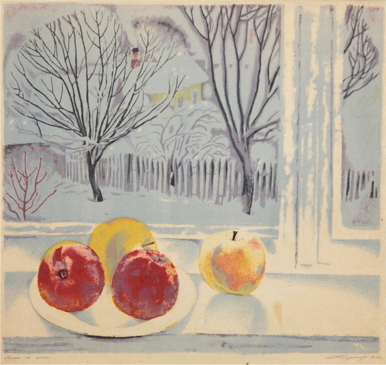 Apples on the Window
