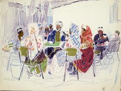 Samarkand. Tea House