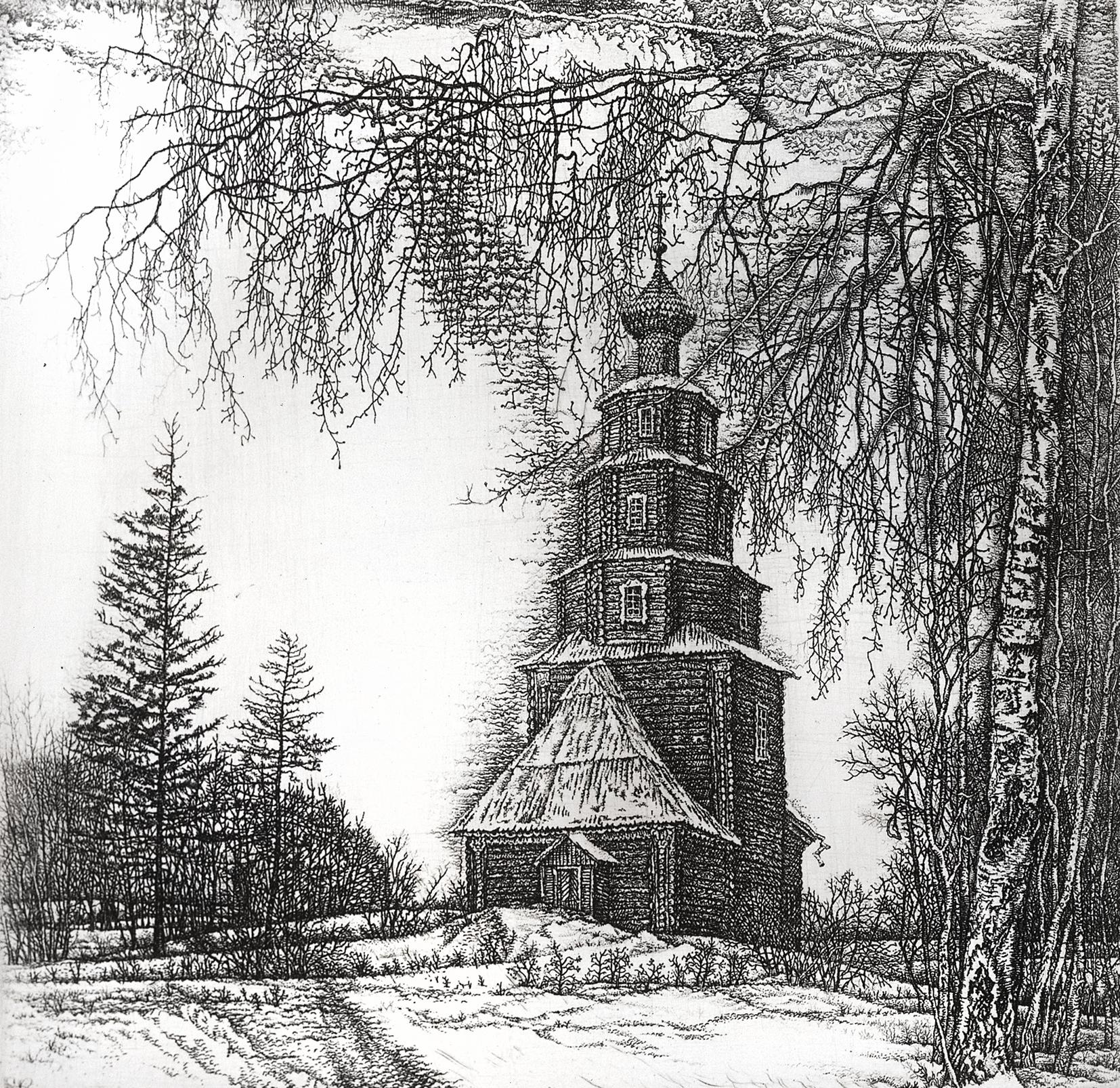Church of Ascension. Torzhok