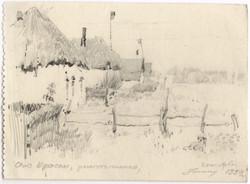 """""""Krasnoye"""" Village, destroyed"""