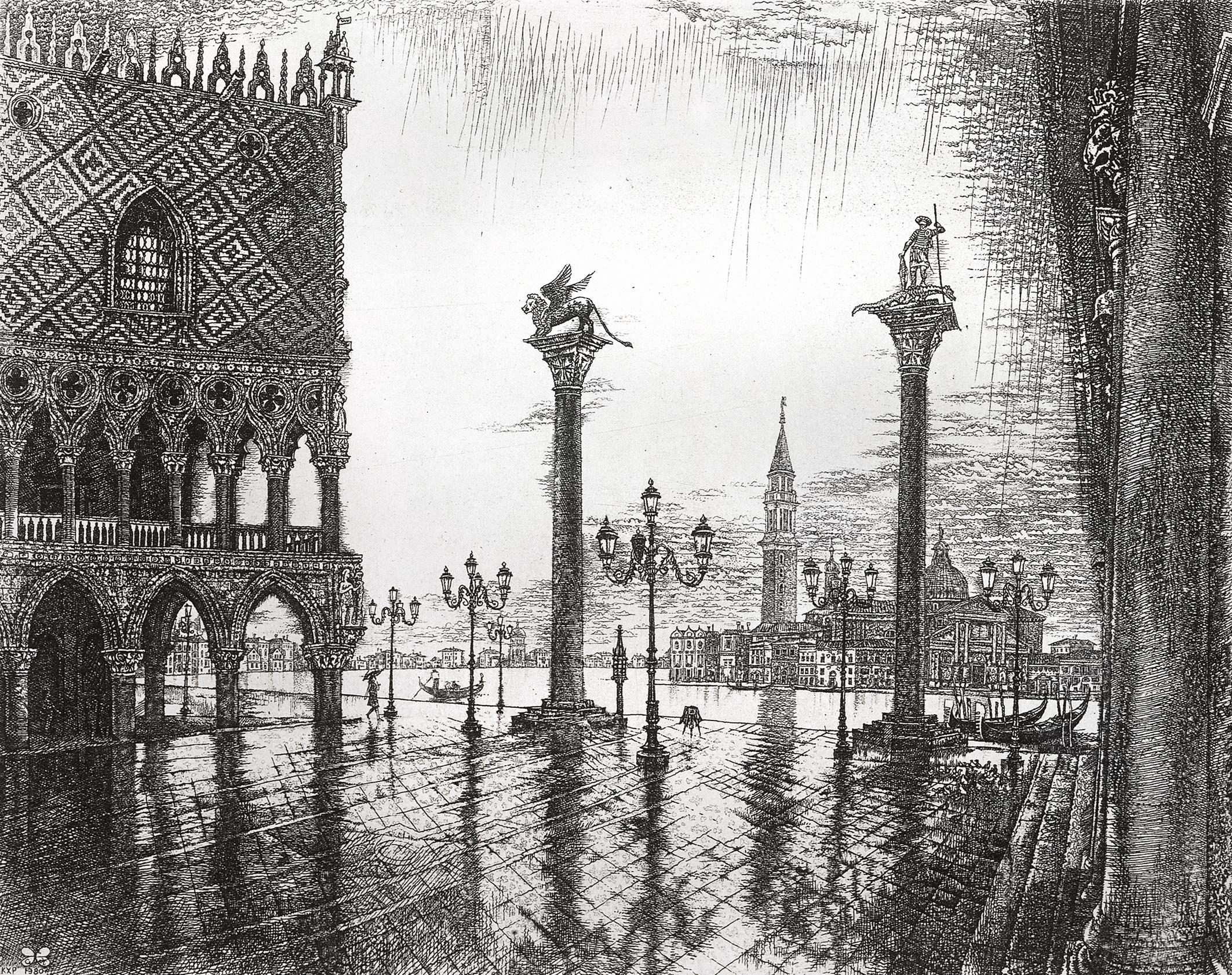 Piazzetta. Venice
