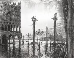 Венеция. Пьяцетта