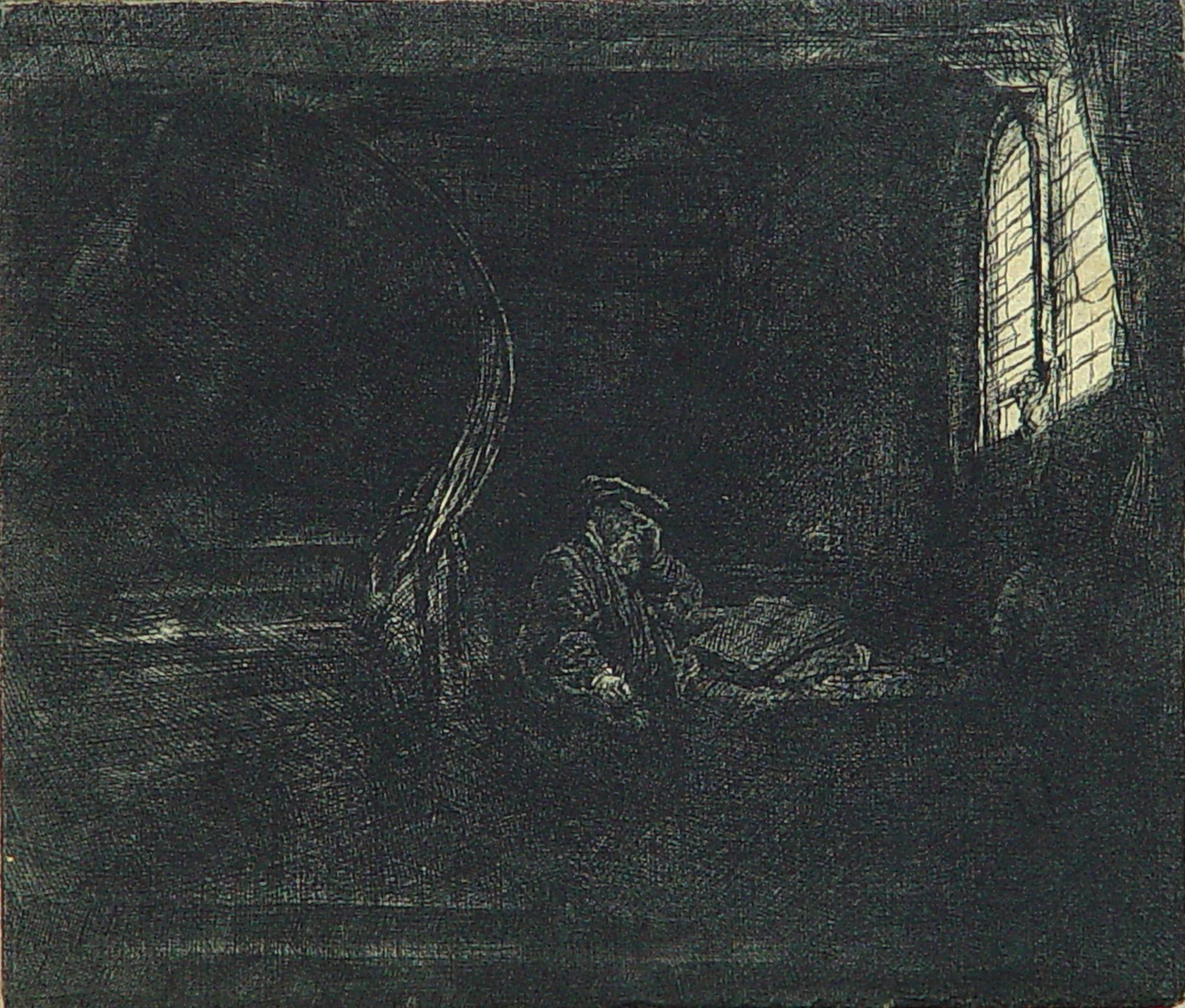 St. Jerom in a Dark Chamber