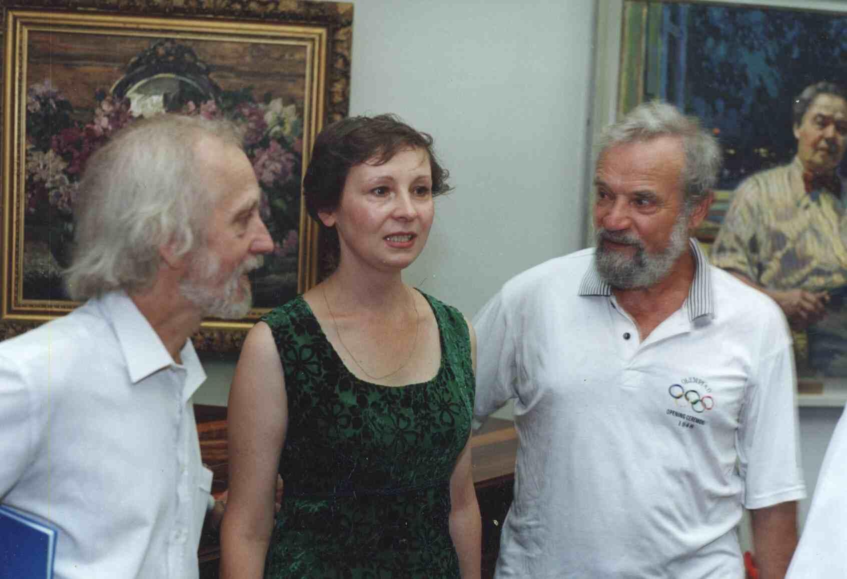 На юбилее А. М. Герасимова