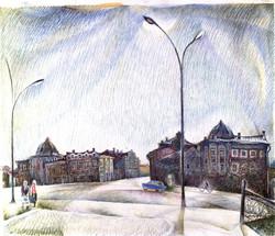 White Nights. Vologda
