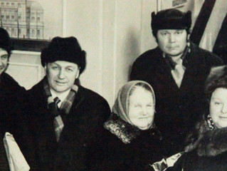 Фото с выставки в Музее-усадьбе А.М. Герасимова / Photo from an exhibition in the Gerasimov Museum-E