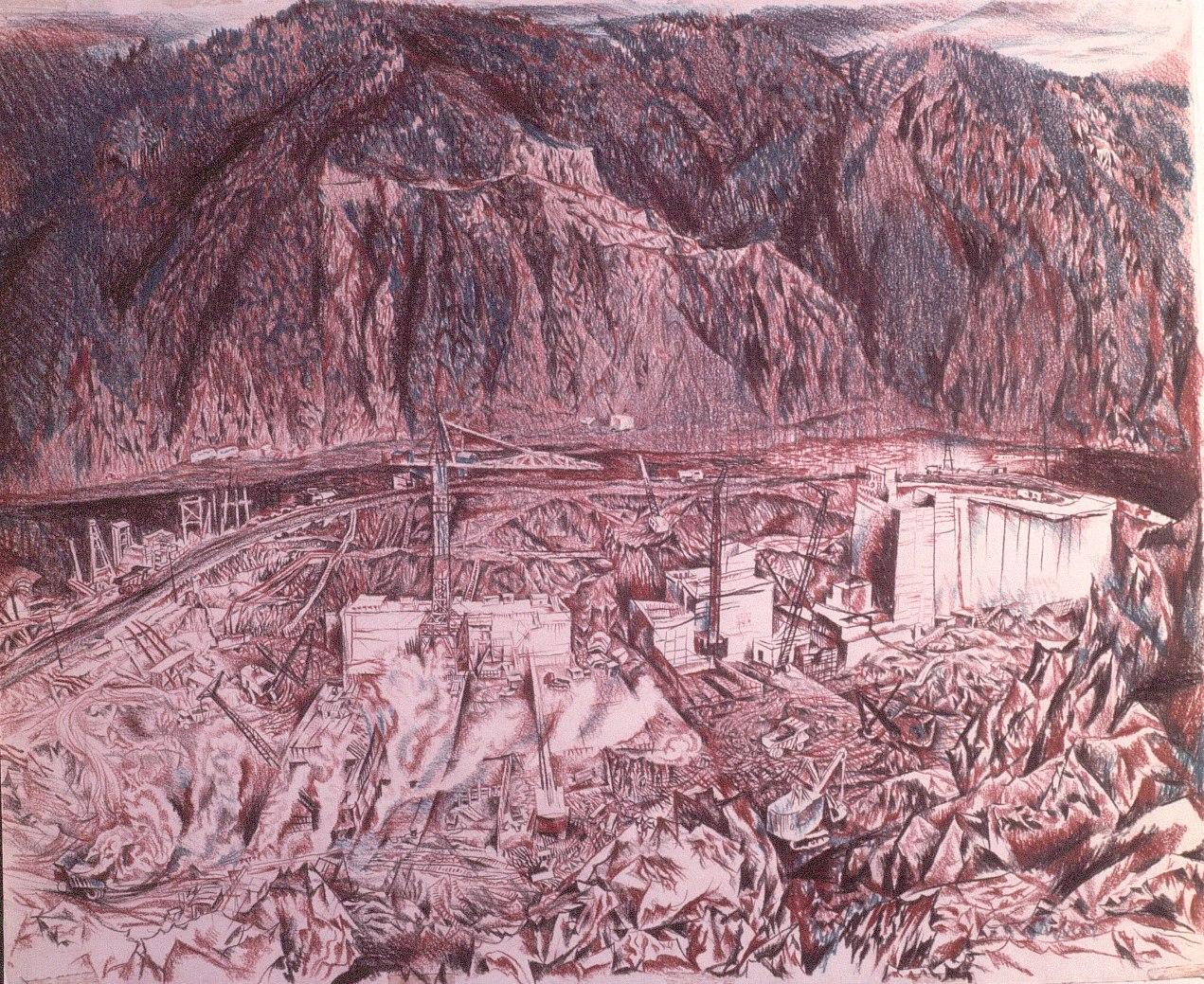 The Sayanskaya Dam