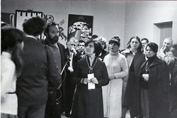 На выставке учеников Платицина