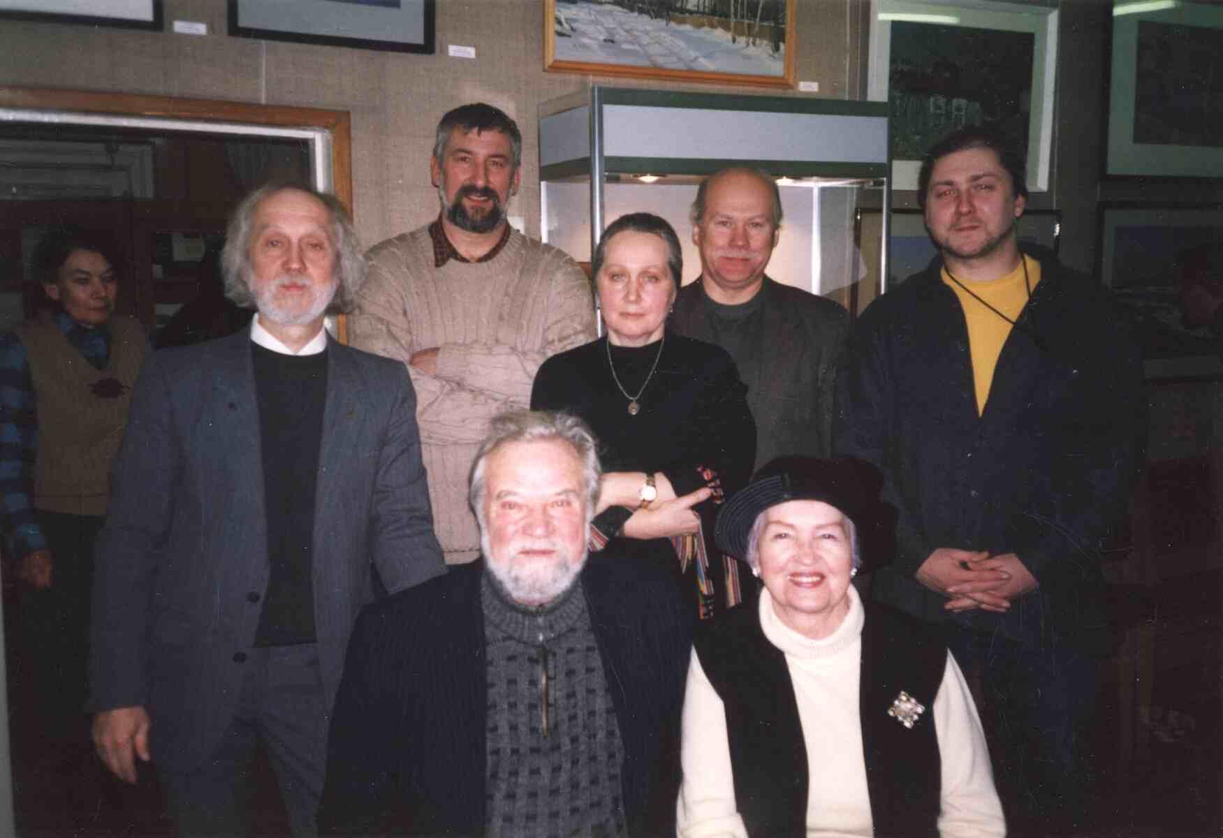 Exhibition of Vitaly Popov