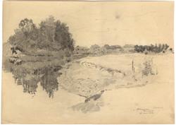 """""""Šešupė river, Prussia"""""""