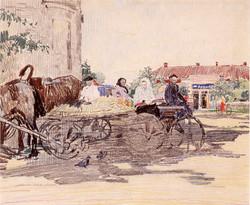 At the Market. Village