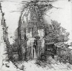 Индия. Храм в Нагаре