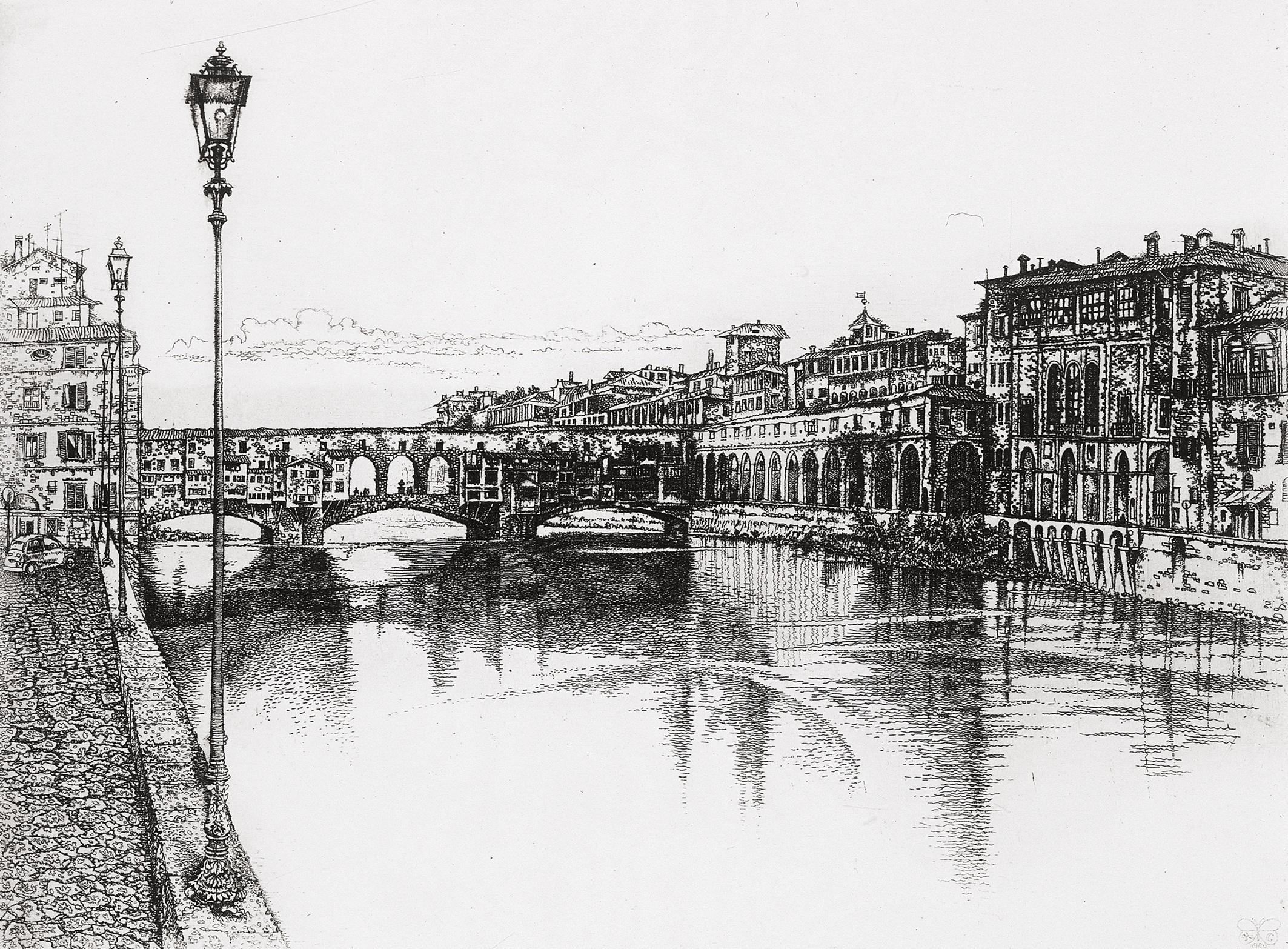 Arno River. Florence