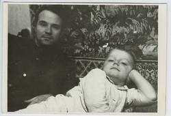 с сыном Олегом