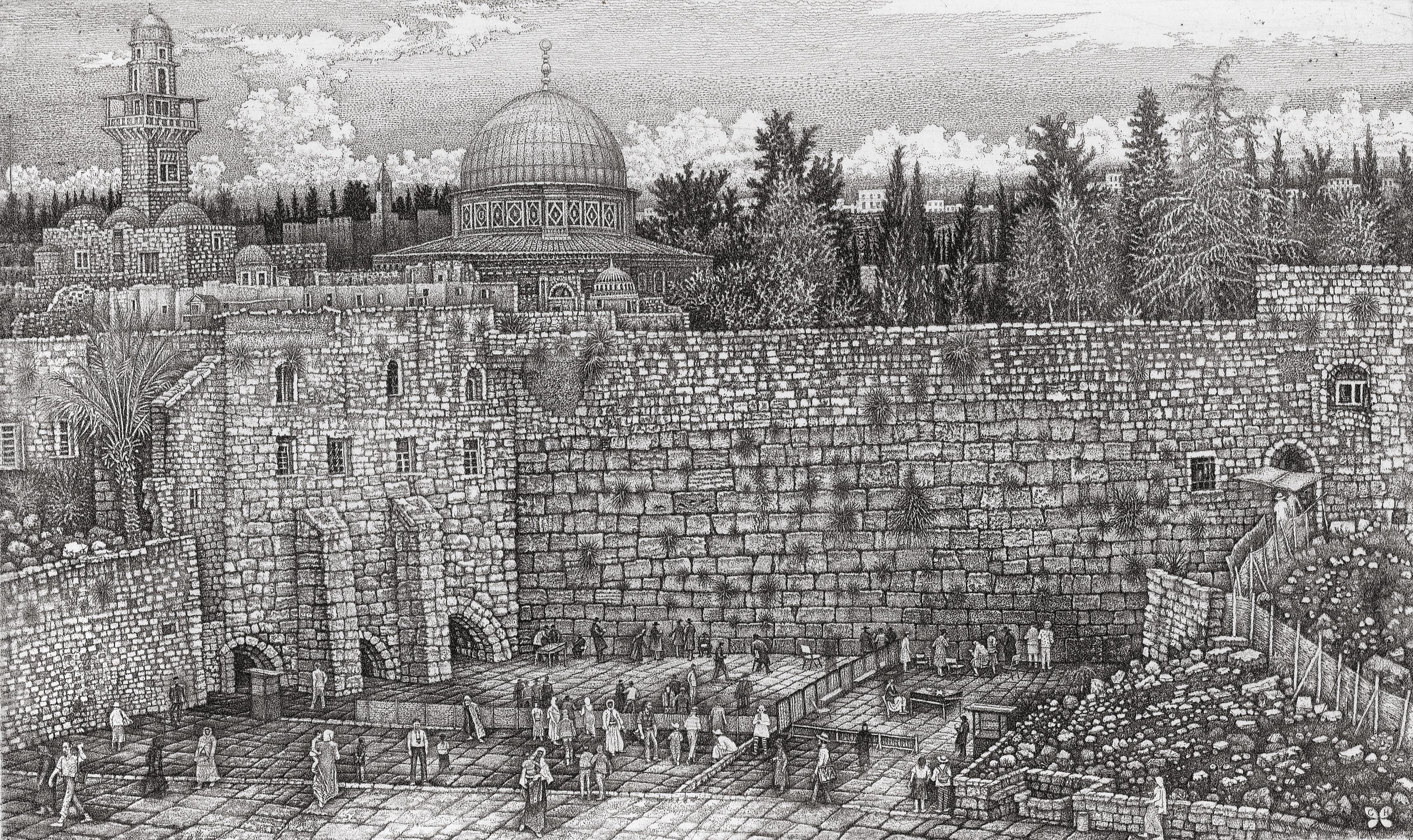 Jerusalem. Wailing Wall
